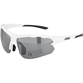 BBB Impulse BSG-52S Sportbrille Small weiß glanz
